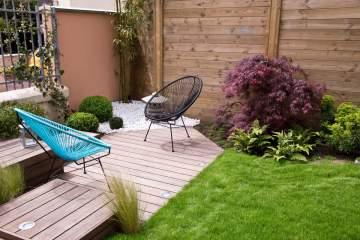 Création d'allées de jardin en Gironde