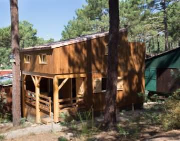 Construction de terrasse en bois à Lacanau